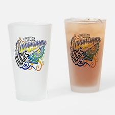 This Groomsman Rocks Drinking Glass