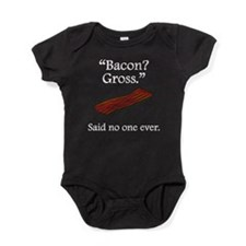 Said No One Ever: Bacon Baby Bodysuit