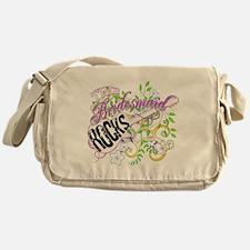This Bridesmaid Rocks Messenger Bag