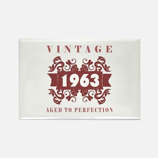 1963 Vintage (old-fashioned) Rectangle Magnet