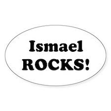 Ismael Rocks! Oval Decal