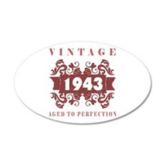 1943 Vintage (old-fashioned) Wall Decal
