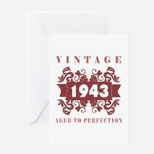 1943 Vintage (old-fashioned) Greeting Card