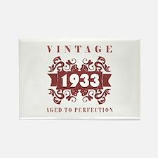 1933 Vintage (old-fashioned) Rectangle Magnet
