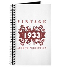 1933 Vintage (old-fashioned) Journal