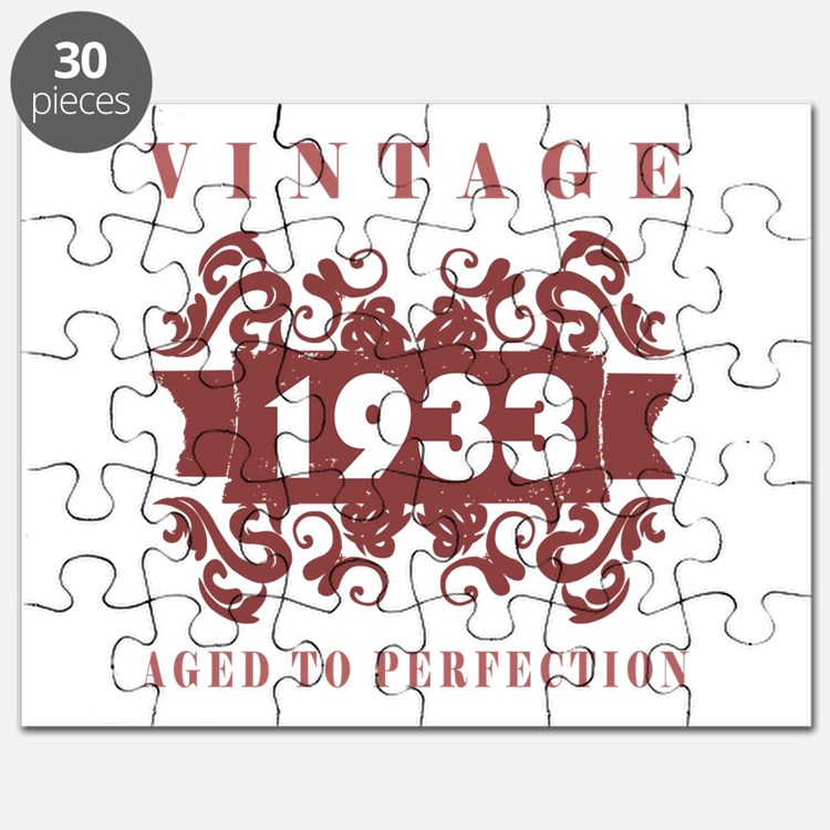 1933 Vintage (old-fashioned) Puzzle