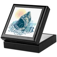 Sharks Happen Keepsake Box