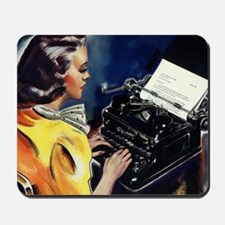Vintage Business, Secretary Mousepad