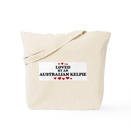 Loved: Australian Kelpie Tote Bag