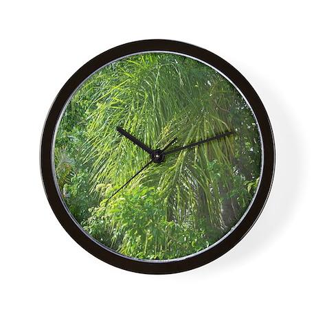 FLORIDA PALMS Wall Clock