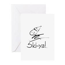 Ski-ya! Greeting Cards