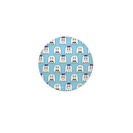 'Ghost Couple' Mini Button (10 pack)