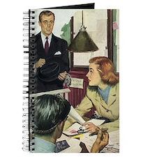 Vintage Business Office Journal