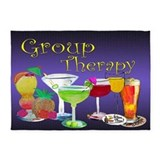Group therapy 5x7 Rugs