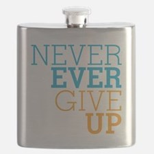 Never Ever Give Up Flask