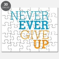 Never Ever Give Up Puzzle