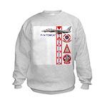 VF-102 DIAMONDBACKS Kids Sweatshirt