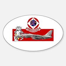 VF-102 DIAMONDBACKS Oval Decal