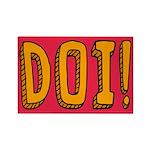 DOI! Rectangle Magnet