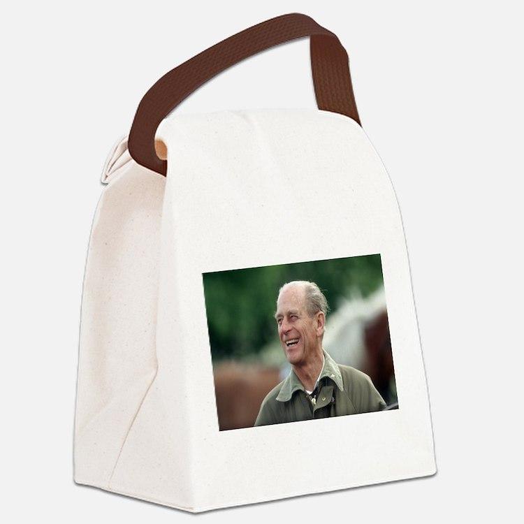 HRH Prince Philip Canvas Lunch Bag