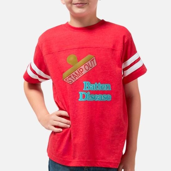 Batten Disease Youth Football Shirt