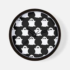 'Ghosts' Wall Clock