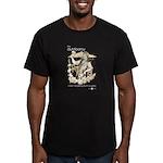 Drunk On Patios Men's Fitted T-Shirt (dark)