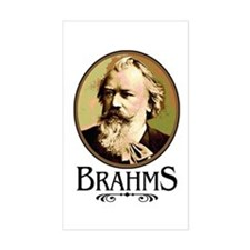Brahms Rectangle Decal