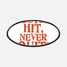 HUSTLE_HIT_1_ORANGE Patches