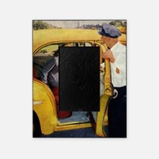 Vintage Taxi Cab Picture Frame
