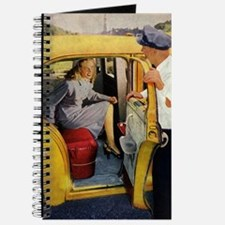 Vintage Taxi Cab Journal
