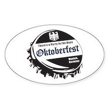 Oktoberfest Beer Cap Decal