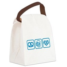 Wiesn Oktoberfest Germany Canvas Lunch Bag