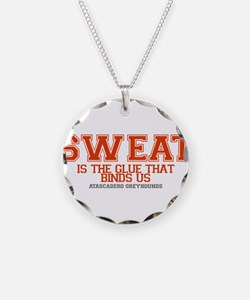 SWEAT_1GRN_HOUNDS Necklace