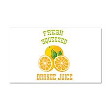 Fresh Squeezed Orange Juice Car Magnet 20 x 12
