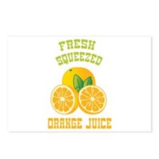 Fresh Squeezed Orange Juice Postcards (Package of
