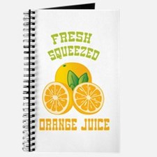 Fresh Squeezed Orange Juice Journal