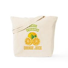 Fresh Squeezed Orange Juice Tote Bag