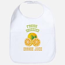 Fresh Squeezed Orange Juice Bib