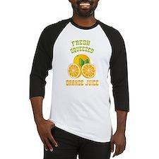 Fresh Squeezed Orange Juice Baseball Jersey