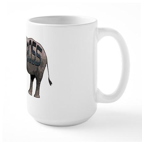 elephant boss Large Mug