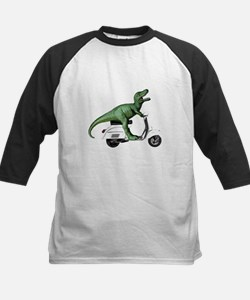 T-Rex Rides Scooter Tee