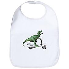 T-Rex Rides Scooter Bib