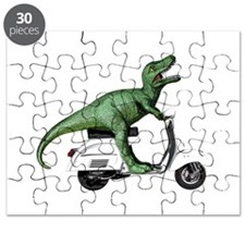 T-Rex Rides Scooter Puzzle