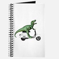 T-Rex Rides Scooter Journal
