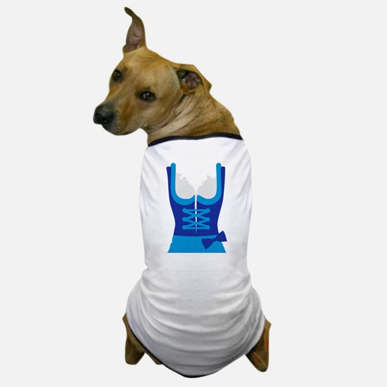 Dirndl Oktoberfest Dress Dog T-Shirt