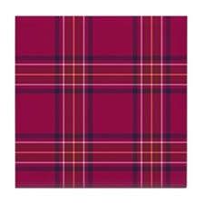 Tartan - Burnett of Leys Tile Coaster