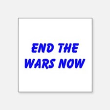End the Wars Now Sticker