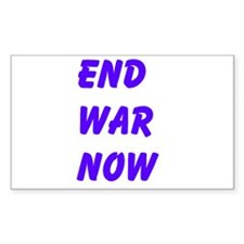 End War Now Decal