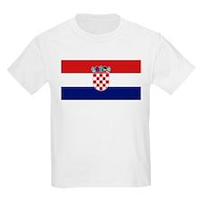 Flag of Croatia Kids T-Shirt